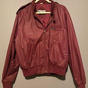 Members Only Burgundy Jacket